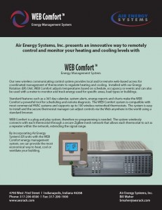Web Comfort Brochure - Click to download PDF